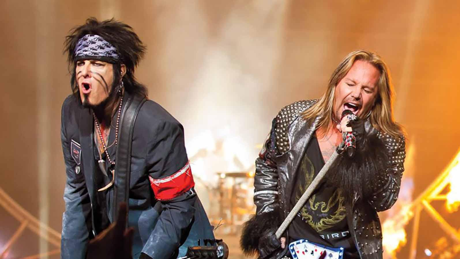 Motley Crue and Def Leppard with Poison