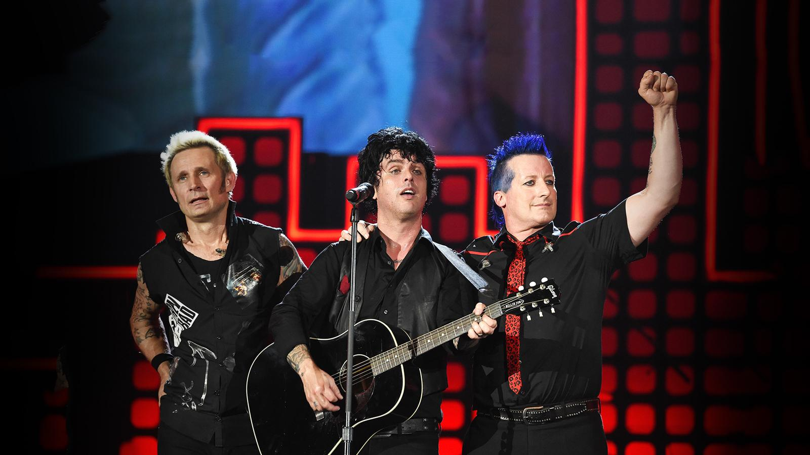 Green Day with Fall Out Boy and Weezer