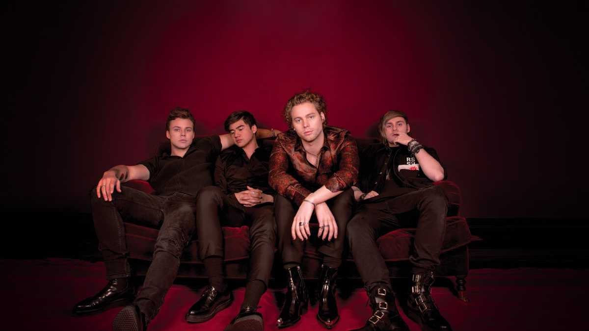 5 Seconds of Summer (Rescheduled from 8/23/2020)