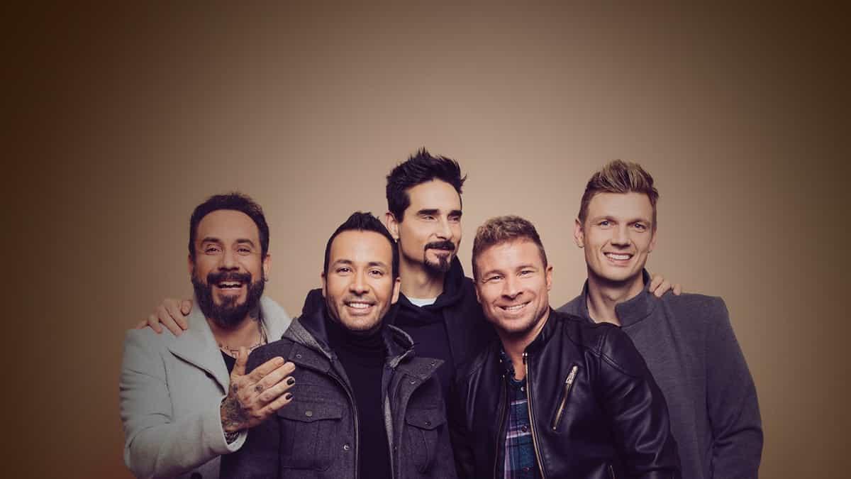 Backstreet Boys (Rescheduled from 7/13/2020)
