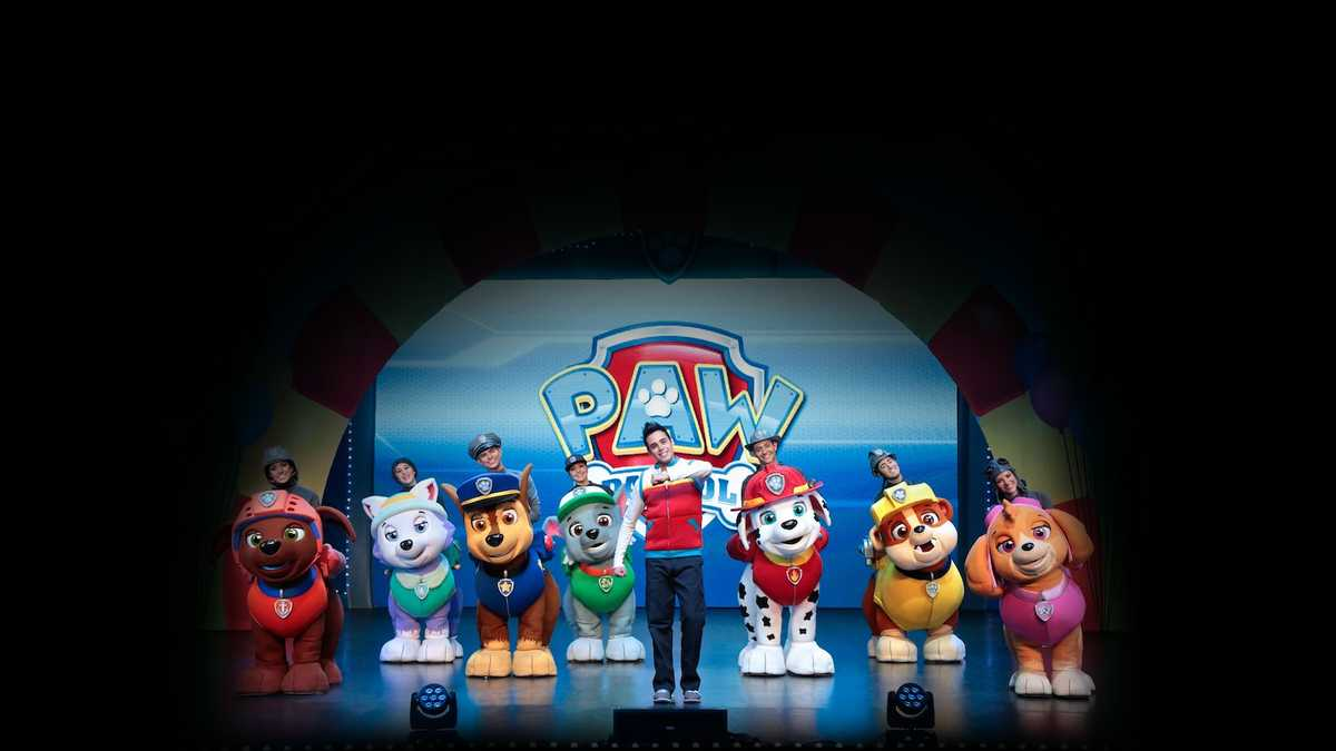 Paw Patrol Live (Rescheduled from 9/12/2020)