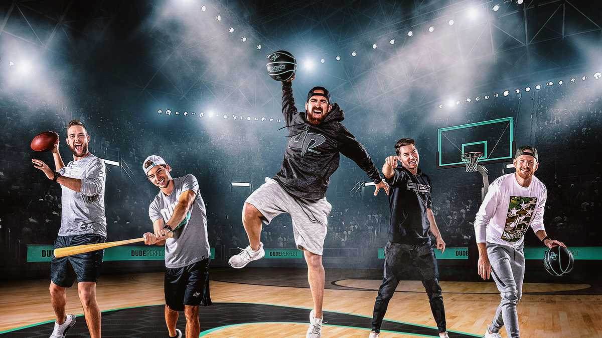 Dude Perfect (Rescheduled from 7/23/2020, 7/1/2021)