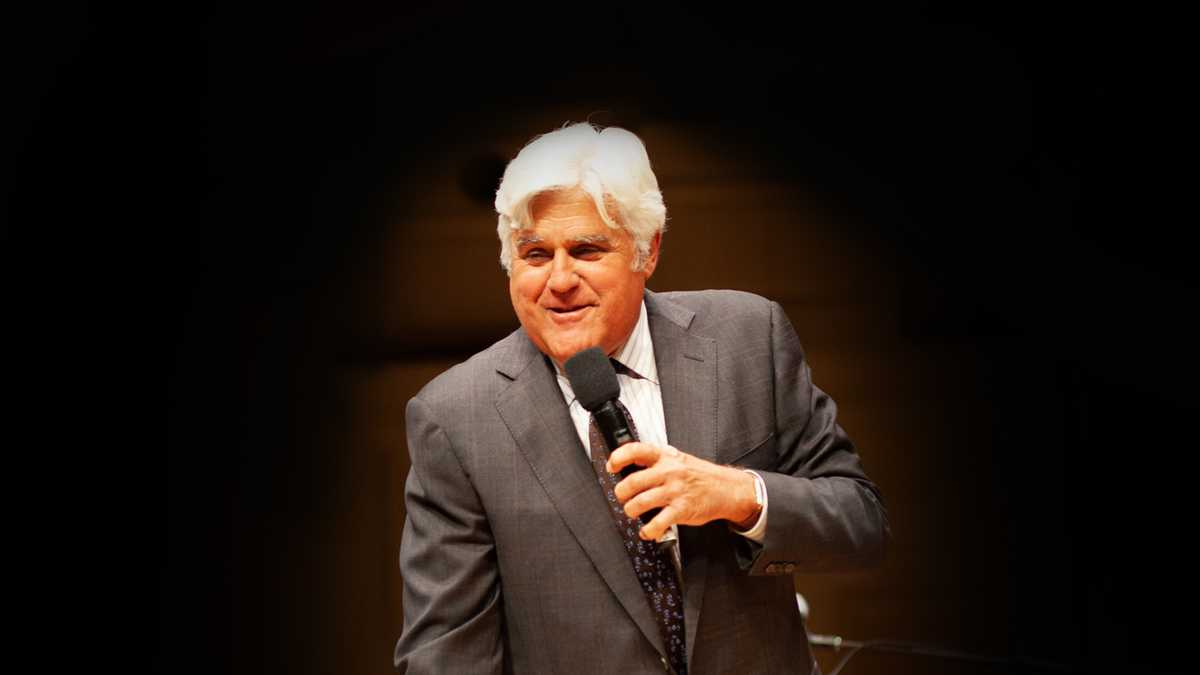Jay Leno (Rescheduled from 3/14/2020, 9/19/2020, 4/24/2021)
