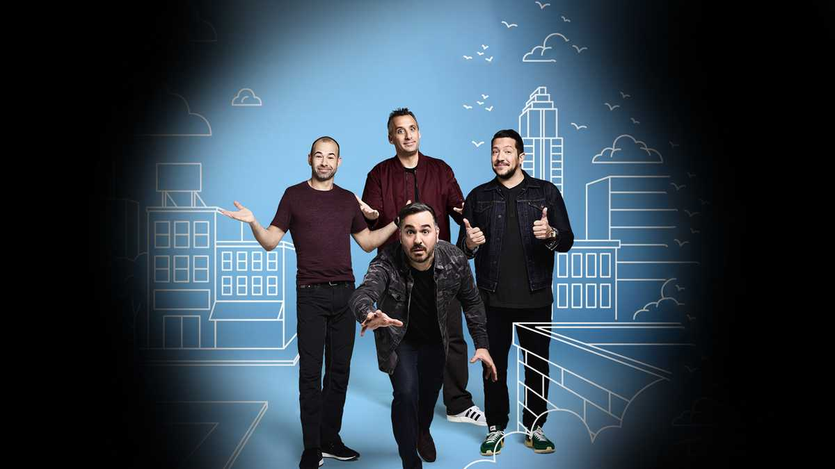 Impractical Jokers  (16+ Event) (Rescheduled from 7/23/2020, 4/9/2021)