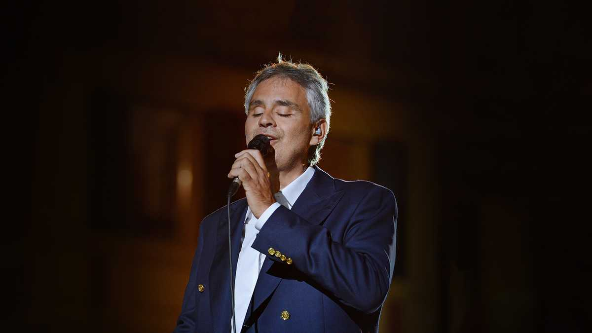 Andrea Bocelli (Rescheduled from 11/6/2021)