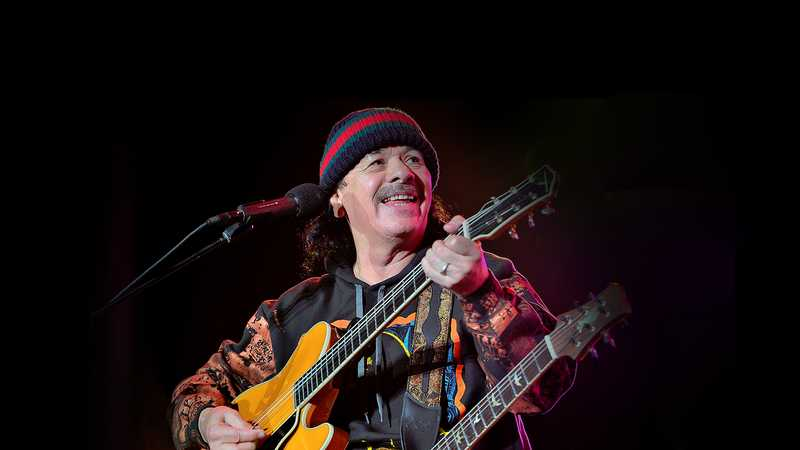 Santana with Earth Wind and Fire (Rescheduled from 8/6/2020, 7/5/2021)