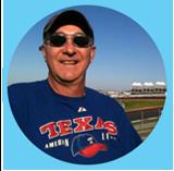 a loyal fan wearing a texans t-shirt