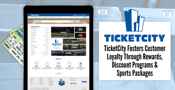 Article on how TicketCity fosters loyalty from clients