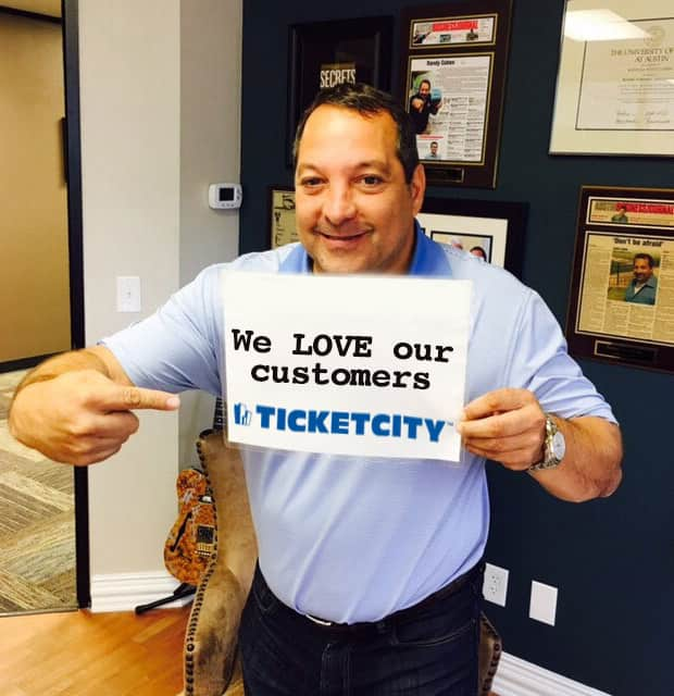 TicketCity CEO, Randy Cohen
