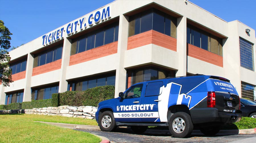 TicketCity's Corporate Office is located in Austin, Texas