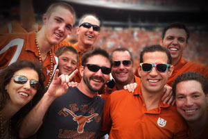 som of the ticketcity team at texas vs ou game