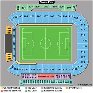Toyota Stadium Soccer Seating Chart
