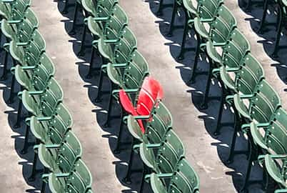 Photo of Your Seat at Event