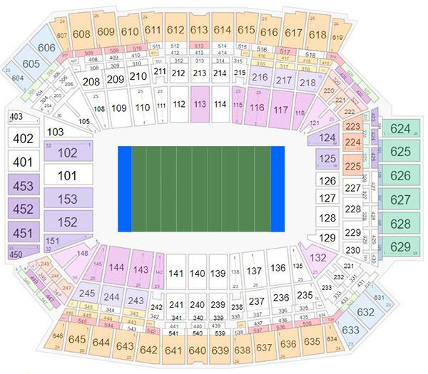 Sec Football Championship Suite Rentals: Big Ten Football Championship Tickets