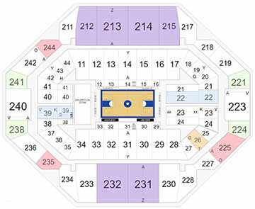 Rupp Arena Seating Chart