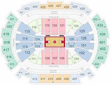 Toyota Center Basketball Seating Chart